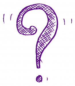 Rainbow Counselling 'Question mark' illustration