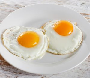 The importance of fried eggs in our lives at this time