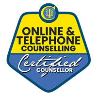 Online & Telephone Counselling Certified Badge